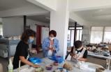 Karaburun'da çocuklara sanat dolu tatil
