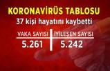 Koronavirüs tablosu (11 Temmuz)