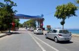 Kuşadası'nda, Milli Park araç girişine kapatıldı