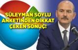 Süleyman Soylu anketinden dikkat çeken sonuç! Erdoğan görevden almalı diyenler…