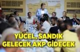 Yücel, sandık gelecek AKP gidecek