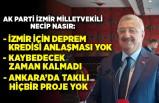 """AK Partili Necip Nasır: """"İzmir için deprem kredisi anlaşması yok"""""""