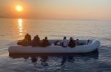 Ayvacık açıklarında 17 kaçak göçmen kurtarıldı