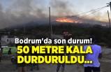 Bodrum'da son durum! 50 metre kala durduruldu...
