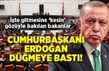 Cumhurbaşkanı Erdoğan düğmeye bastı! İşte gitmesine 'kesin' gözüyle bakılan bakanlar