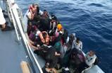 Dikili açıklarında 34 kaçak göçmen kurtarıldı