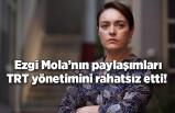 Ezgi Mola'nın yangın felaketiyle ilgili paylaşımları TRT yönetimini rahatsız etti!
