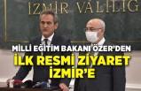 İlk resmi ziyaret İzmir'e