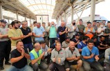 İzmir İtfaiyesi alkışlarla uğurlandı alkışlarla karşılandı