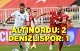 Altınordu: 2 - Denizlispor: 1