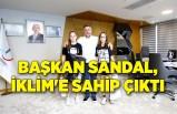 Başkan Sandal, Bayraklı'nın gururu İklim'e sahip çıktı