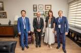 Başkan Soyer, uluslararası Kültür Zirvesi'nin konuklarıyla bir araya geldi
