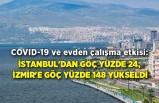 COVID-19 ve evden çalışma etkisi: İstanbul'dan göç yüzde 24, İzmir'e göç yüzde 148 yükseldi