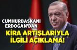 Cumhurbaşkanı Erdoğan'dan kira-gıda fiyatlarıyla ilgili açıklama!