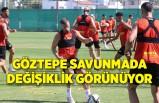 Göztepe'de savunmasında değişiklik görünüyor