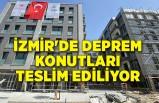 İzmir'de deprem konutları teslim ediliyor