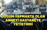 İzmir polisinden örnek davranış