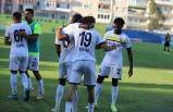 Menemenspor'un golcüleri iş başında