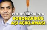 Prof. Dr. Uğur Şahin'den koronavirüs aşı açıklaması