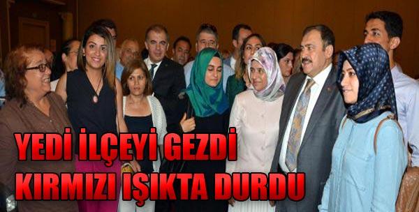 Bakan Eroğlu'nun Işık Hassasiyeti