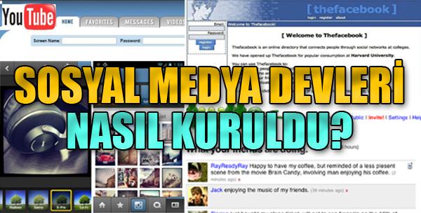 Sosyal Medya Devleri Nasıl Kuruldu?