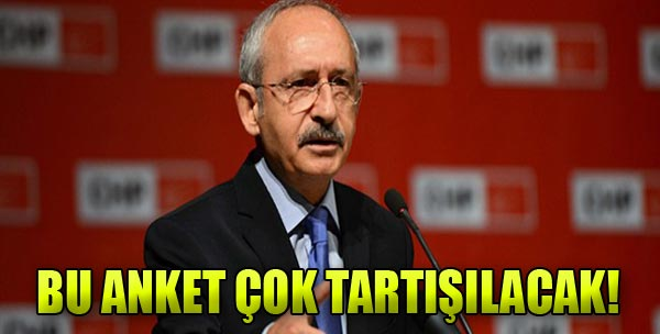 Kılıçdaroğlu'na Anket Şoku!