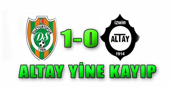 Düzyurtspor 1-0 Altay