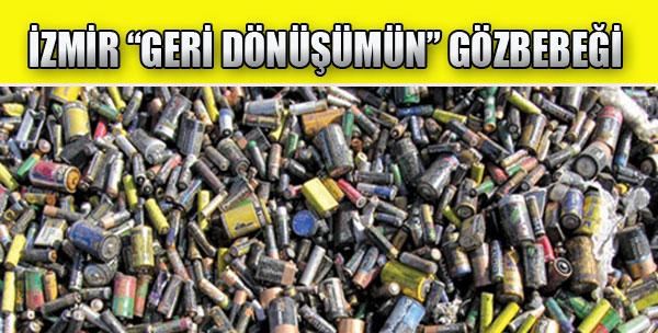 İzmir 'Geri Dönüşümün' Gözbebeği