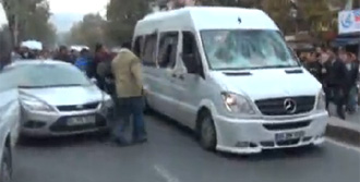 Göztepeli Taraftarlar Saldırıya Uğradı