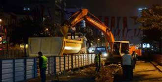 Taksim'de Trafik Felç!