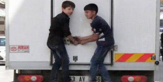 Şanlıurfa'da Çocukların Tehlikeli Oyunu