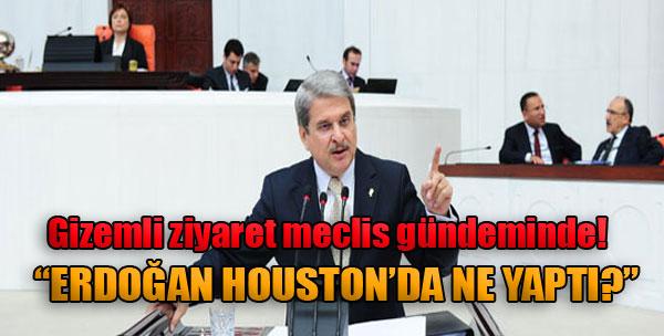 'Erdoğan Houston'da Ne Yaptı?'