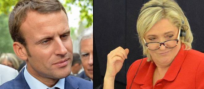 Marinne Le Pen Ve Macron İkinci Tura Kaldı