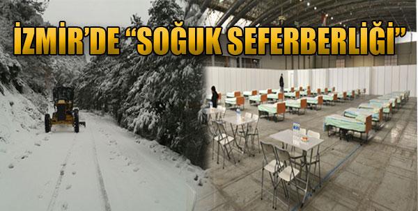 İzmir'de 'Soğuk Seferberliği'