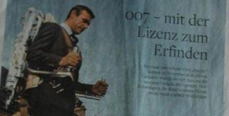 'James Bond Filmleri Teknolojiye İlham Veriyor'