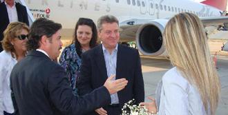 Makedonya Cumhurbaşkanı Bodrum'da