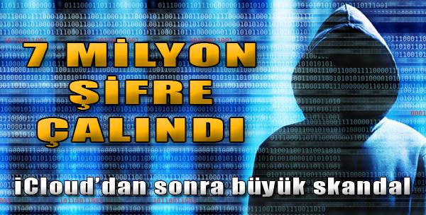 7 Milyon Şifre Çalındı!