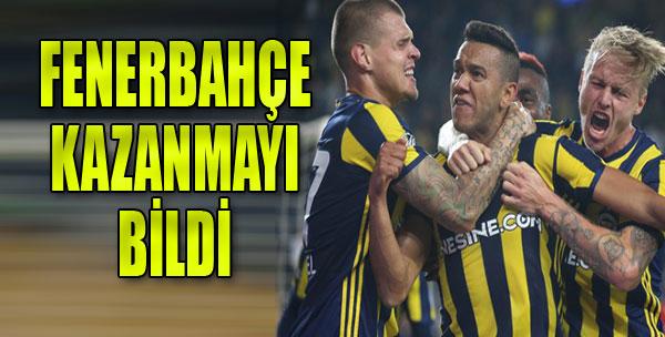 Fenerbahçe Maçın Sonunda Güldü