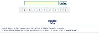 TDK'dan 'Çapulcu' Ayarı!