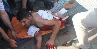 Adliye Önündeki Kavgada Bıçakla Yaralandı