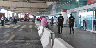 Atatürk Havalimanı'nda Beton Bariyerli Önlem