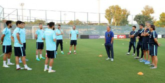 A Milli Futbol Takımı İlk İdmanını Yaptı