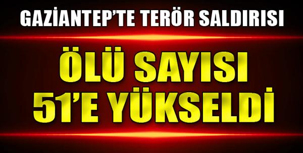 Gaziantep'te Terör Saldırısı