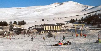 Uludağ'da Kayak Sezonu Sona Erdi