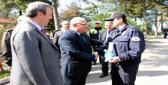 Zonguldak'ta Polise Başarı Belgesi