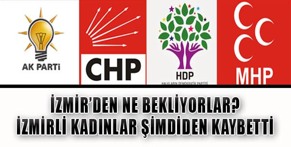 İzmir Adaylarının Şifreleri Netleşti