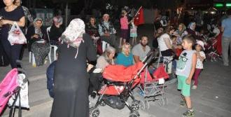 Kırıkkale'de Darbe Girişimi Protestosu