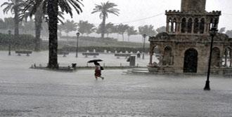 Batı Bölgelerine Kuvvetli Yağış Uyarısı