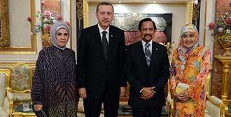 Erdoğan'dan Brunei'ye Ziyaret
