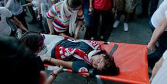 Taksim'de Korkunç Bilanço